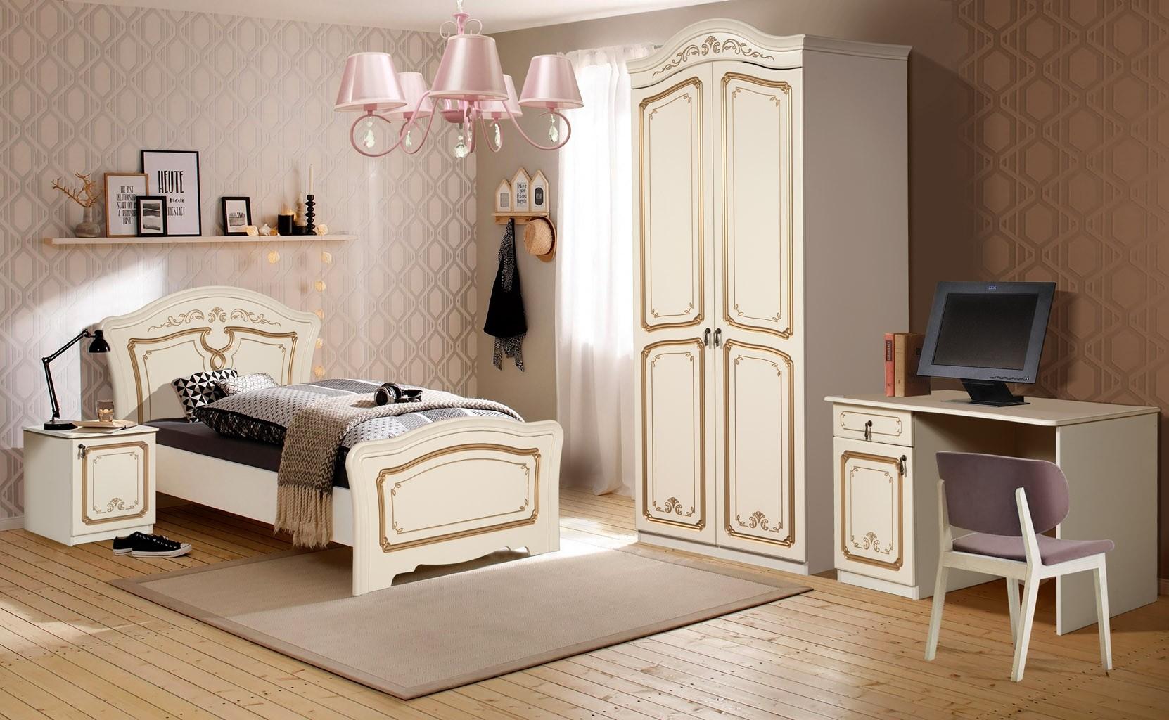 Miegamojo baldų komplektas MONIKA+
