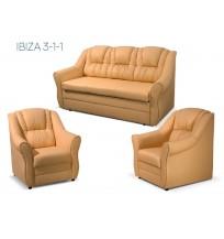 Svetainės komplektas IBIZA 3-1-1