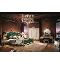 Prancūzų dvaro miegamojo baldų komplektas F292-1