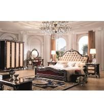 Prancūzų dvaro miegamojo baldų komplektas F361-1