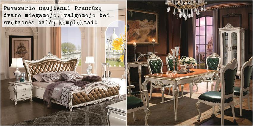 prancūzų baldai