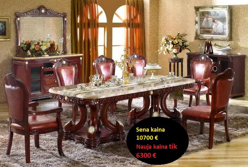 pietu stalas su kedemis z163